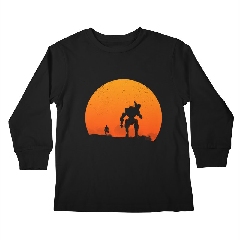 Pilot and Titan Kids Longsleeve T-Shirt by mateusquandt's Artist Shop