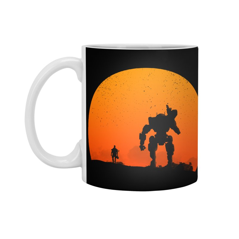 Pilot and Titan Accessories Mug by mateusquandt's Artist Shop