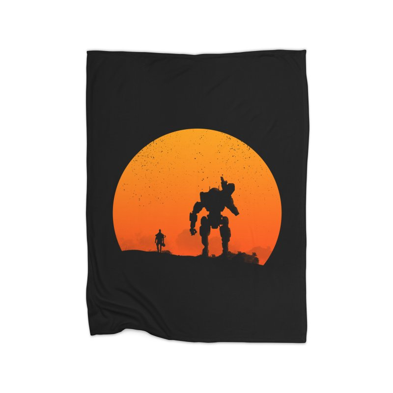 Pilot and Titan Home Blanket by mateusquandt's Artist Shop