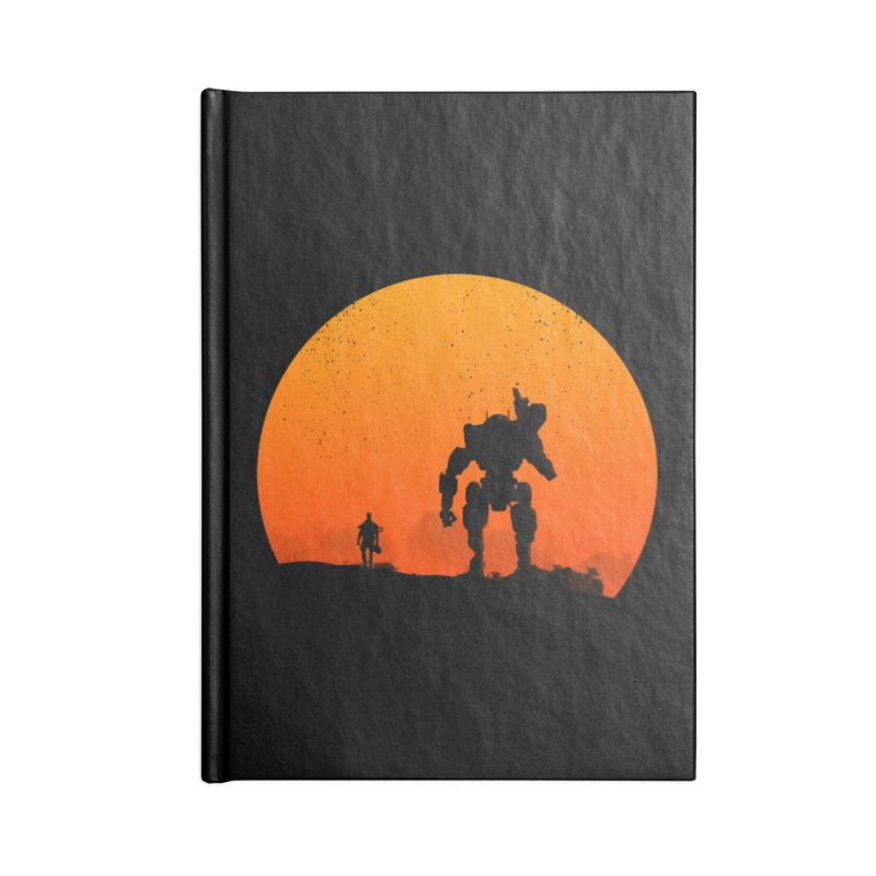 Pilot and Titan Accessories Notebook by mateusquandt's Artist Shop