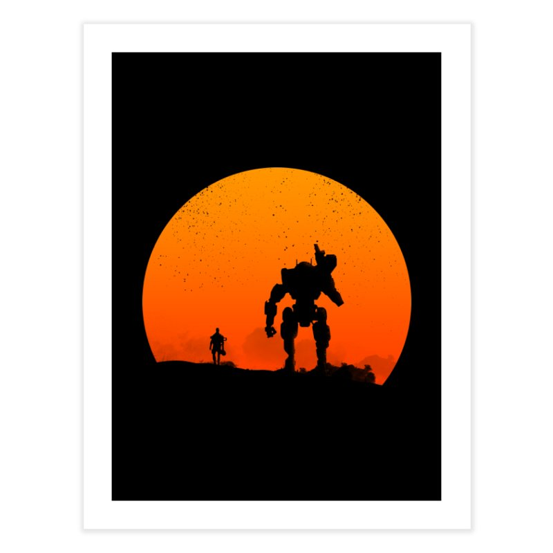 Pilot and Titan Home Fine Art Print by mateusquandt's Artist Shop