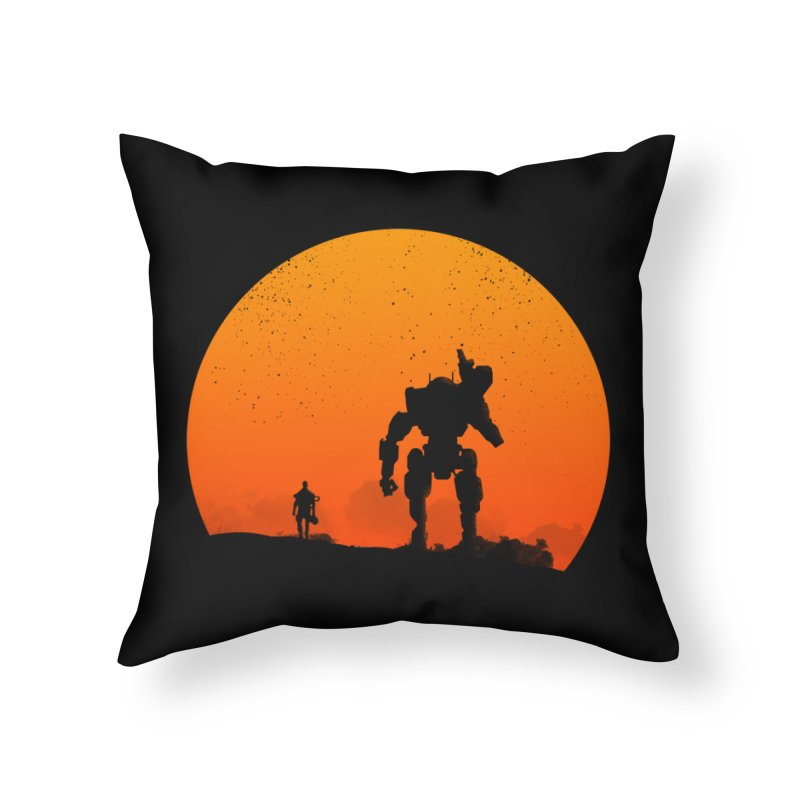 Pilot and Titan Home Throw Pillow by mateusquandt's Artist Shop