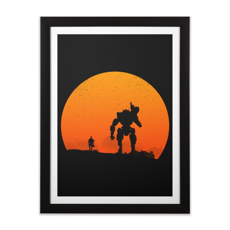 Pilot and Titan Home Framed Fine Art Print by mateusquandt's Artist Shop
