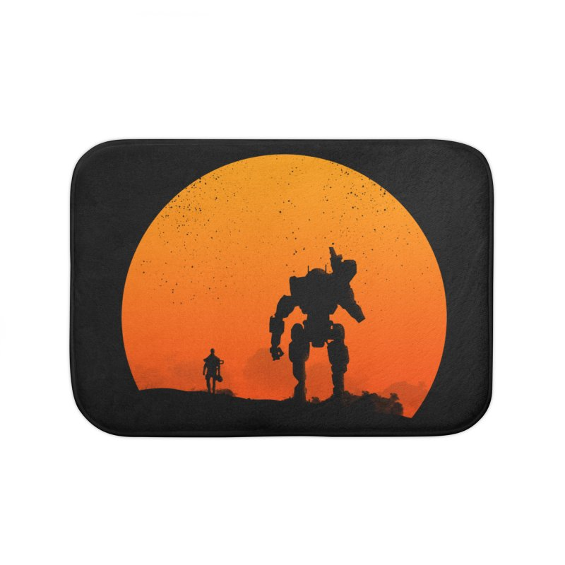 Pilot and Titan Home Bath Mat by mateusquandt's Artist Shop