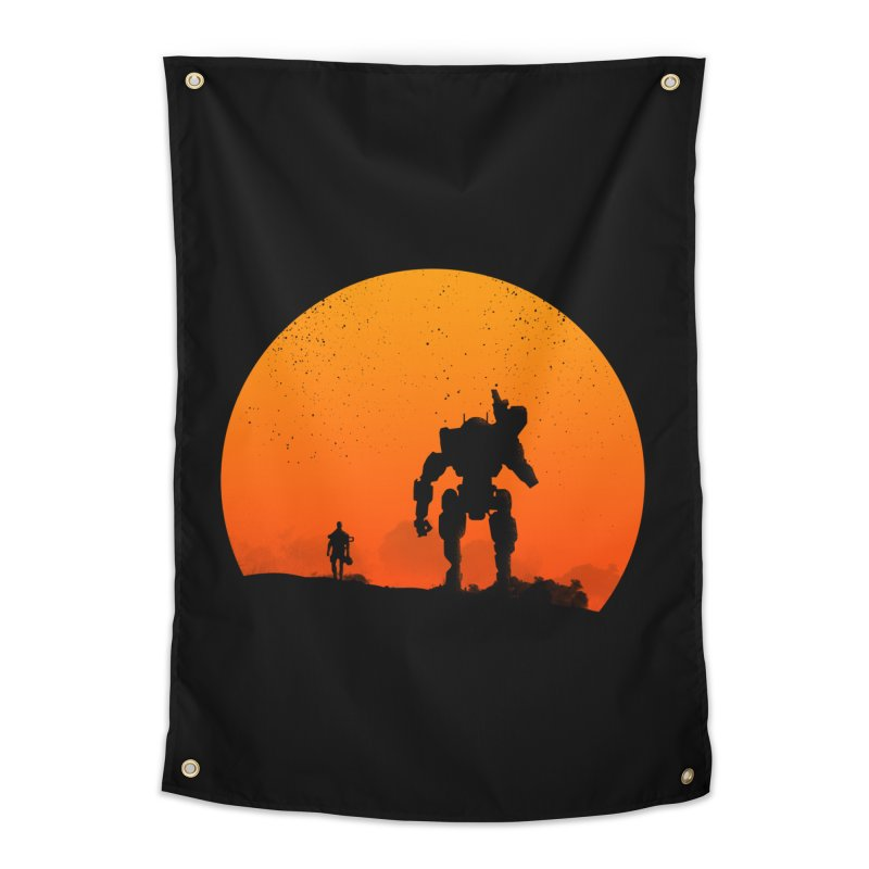 Pilot and Titan Home Tapestry by mateusquandt's Artist Shop