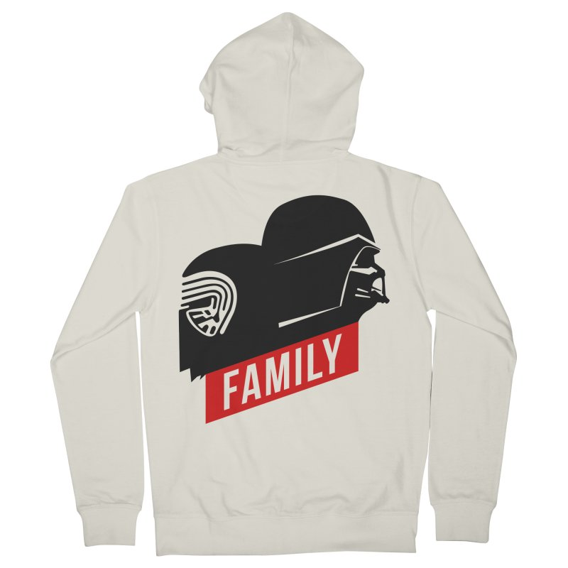 Family Men's Zip-Up Hoody by mateusquandt's Artist Shop