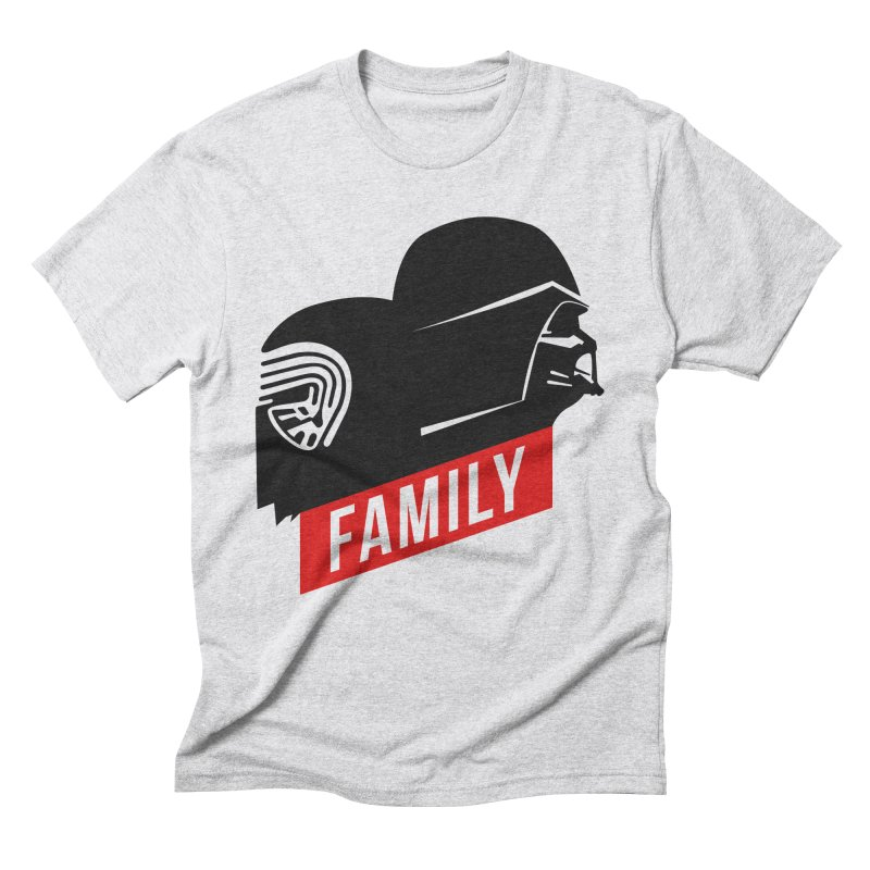 Family Men's Triblend T-Shirt by mateusquandt's Artist Shop