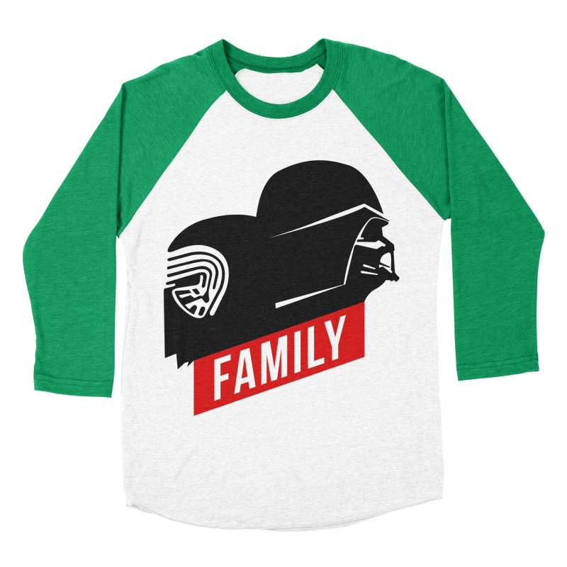 Family Women's Baseball Triblend T-Shirt by mateusquandt's Artist Shop