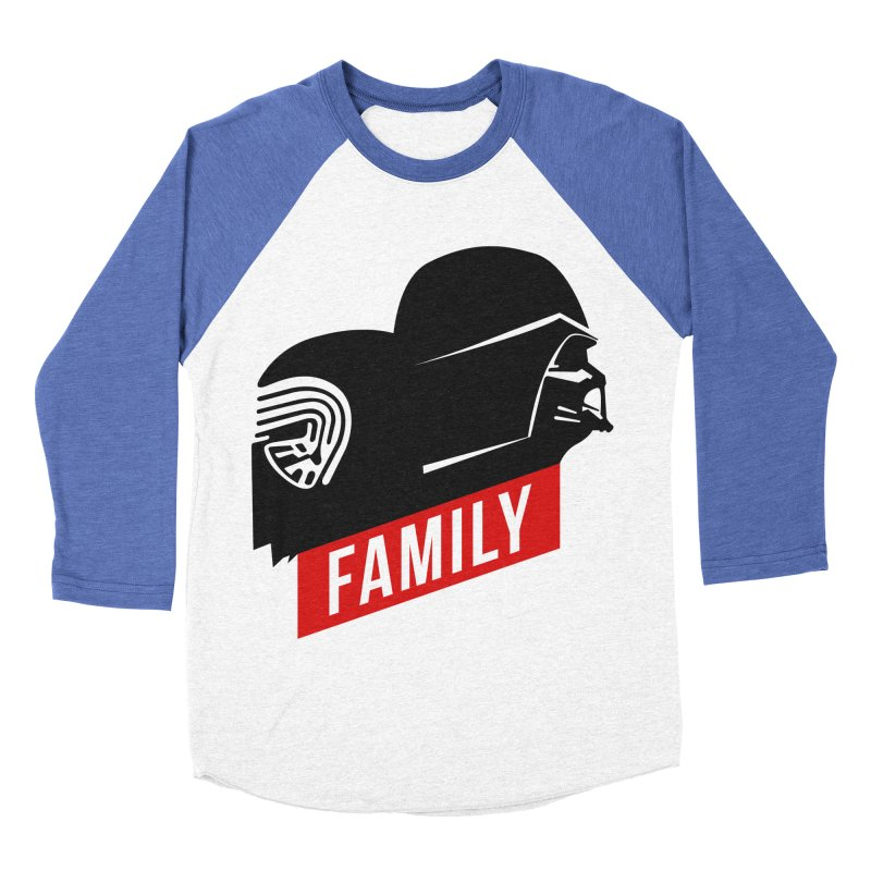 Family Men's Baseball Triblend T-Shirt by mateusquandt's Artist Shop