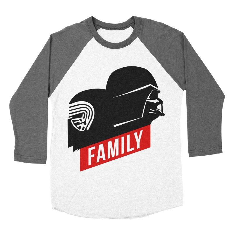 Family Men's Baseball Triblend T-Shirt by mateusquandt's Artist Shop