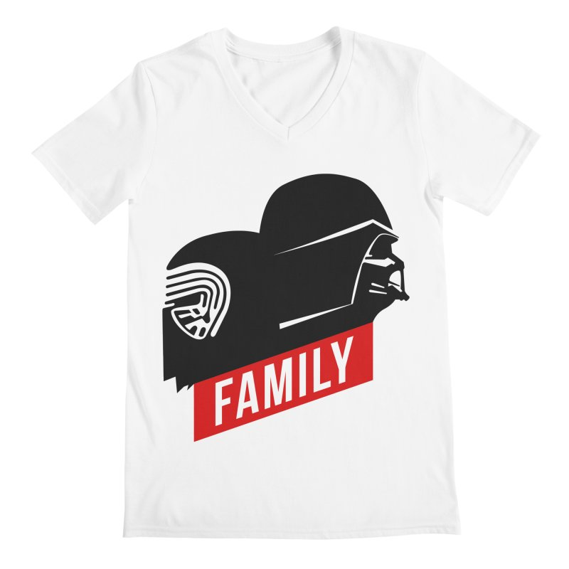 Family Men's V-Neck by mateusquandt's Artist Shop