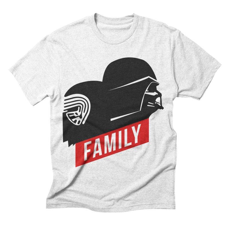 Family Men's Triblend T-shirt by mateusquandt's Artist Shop