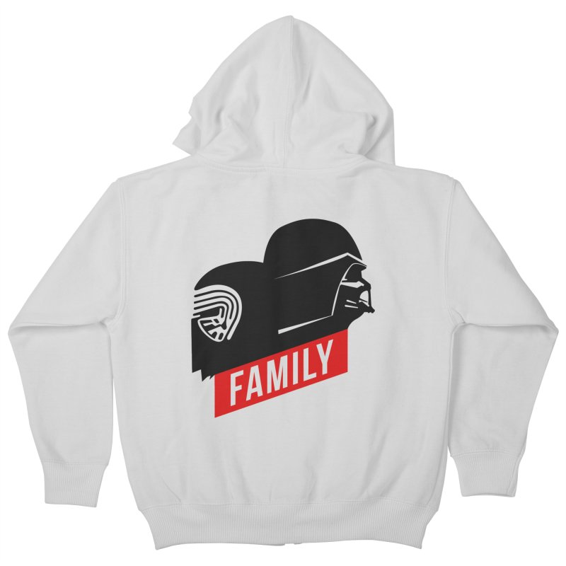 Family Kids Zip-Up Hoody by mateusquandt's Artist Shop