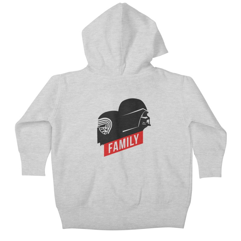 Family Kids Baby Zip-Up Hoody by mateusquandt's Artist Shop