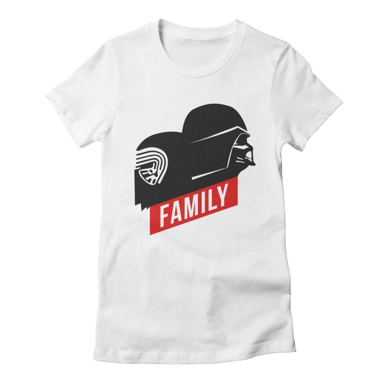 Family Women's Fitted T-Shirt by mateusquandt's Artist Shop
