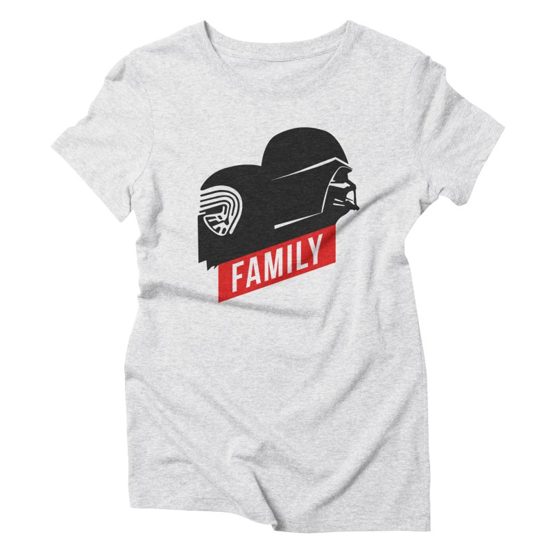 Family Women's Triblend T-shirt by mateusquandt's Artist Shop