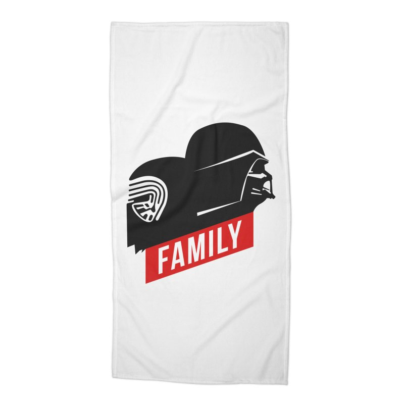 Family Accessories Beach Towel by mateusquandt's Artist Shop