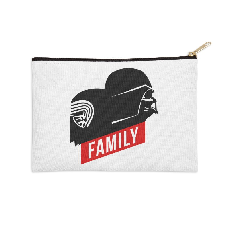 Family Accessories Zip Pouch by mateusquandt's Artist Shop