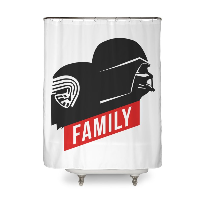Family Home Shower Curtain by mateusquandt's Artist Shop