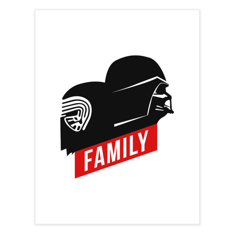 Family Home Fine Art Print by mateusquandt's Artist Shop