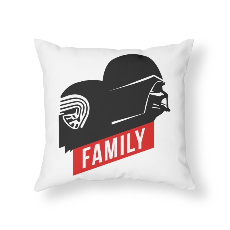 Family Home Throw Pillow by mateusquandt's Artist Shop