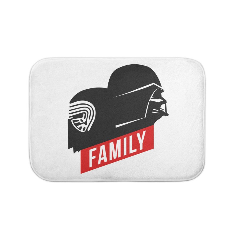 Family Home Bath Mat by mateusquandt's Artist Shop