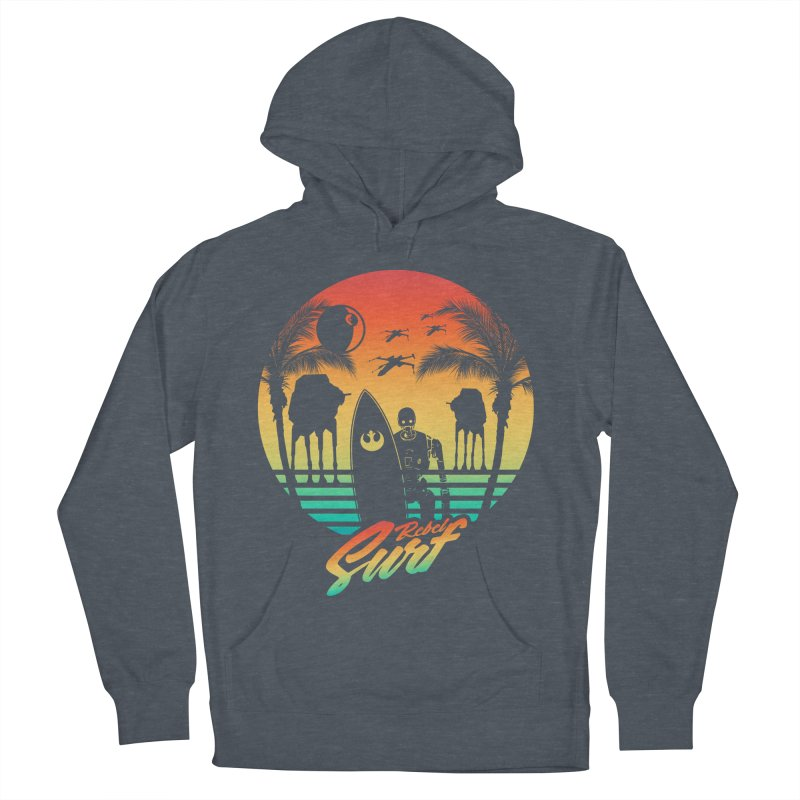 Rebel Surf Women's Pullover Hoody by mateusquandt's Artist Shop