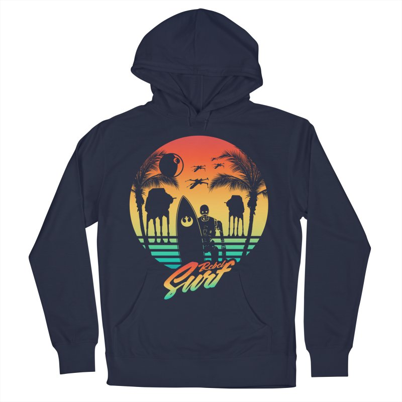 Rebel Surf Men's Pullover Hoody by mateusquandt's Artist Shop