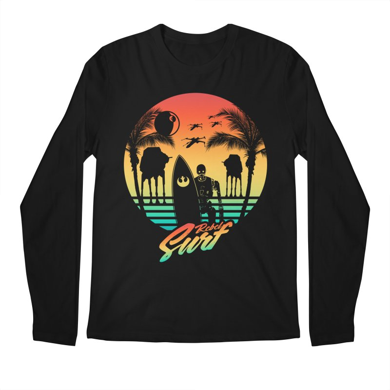 Rebel Surf Men's Longsleeve T-Shirt by mateusquandt's Artist Shop