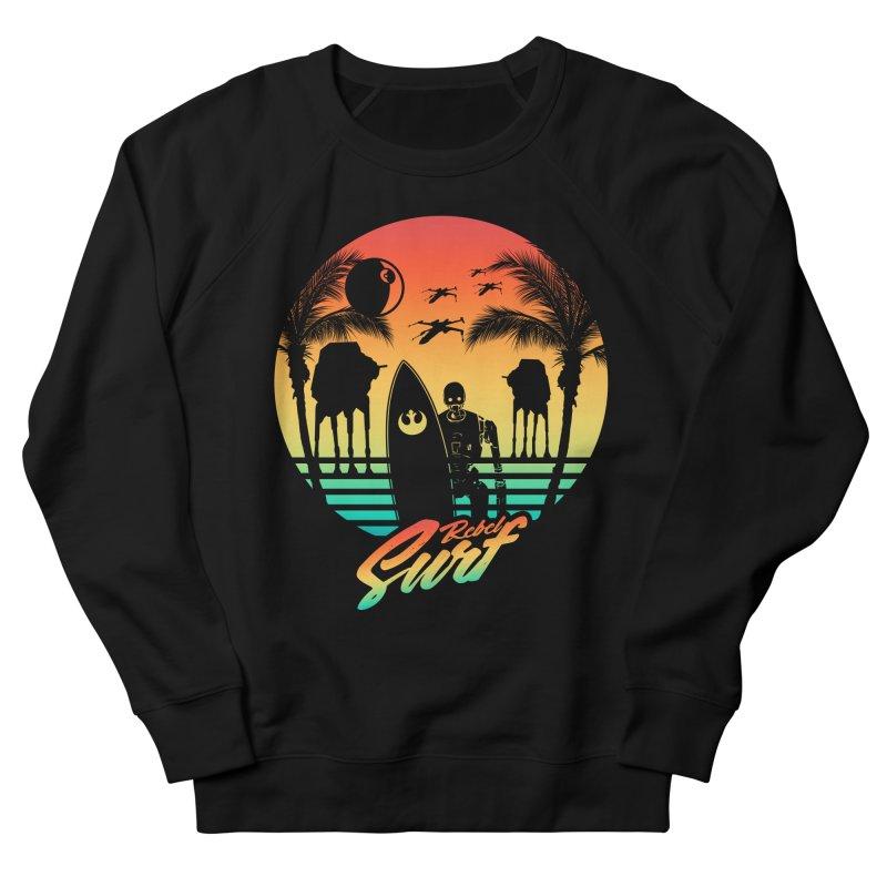 Rebel Surf Women's Sweatshirt by mateusquandt's Artist Shop