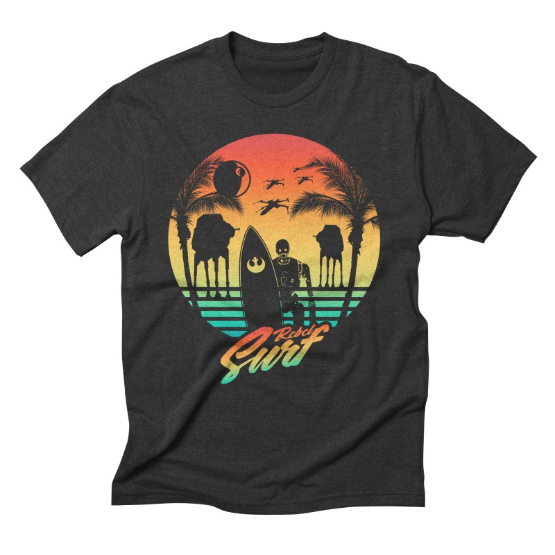Rebel Surf Men's Triblend T-Shirt by mateusquandt's Artist Shop