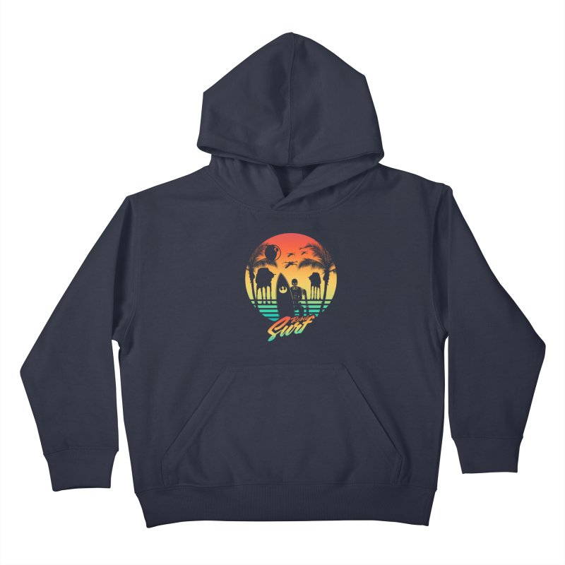 Rebel Surf Kids Pullover Hoody by mateusquandt's Artist Shop