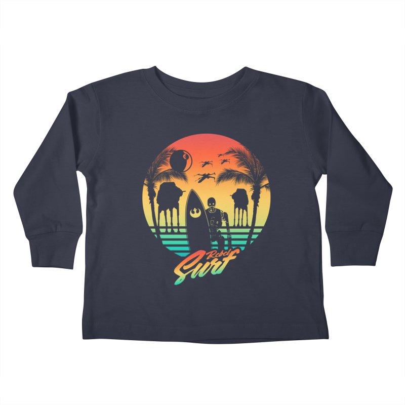 Rebel Surf Kids Toddler Longsleeve T-Shirt by mateusquandt's Artist Shop