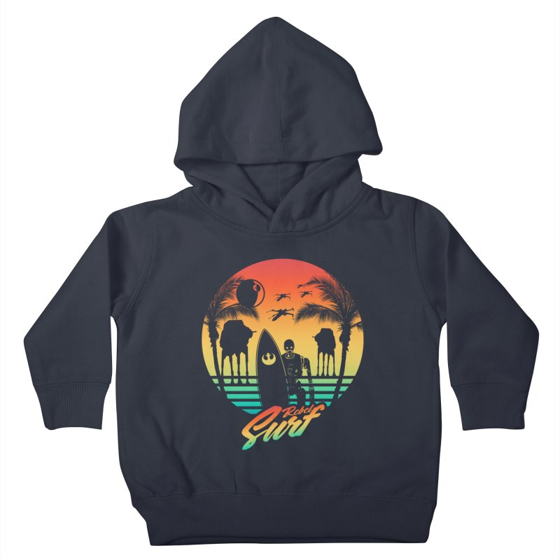 Rebel Surf Kids Toddler Pullover Hoody by mateusquandt's Artist Shop