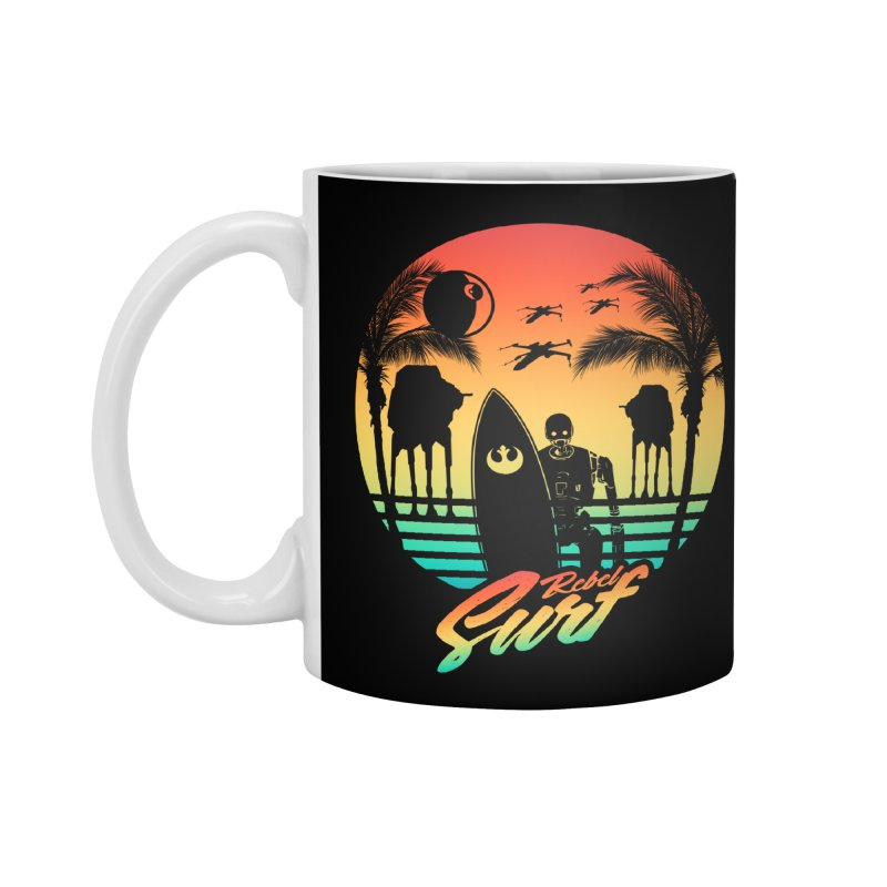 Rebel Surf Accessories Mug by mateusquandt's Artist Shop