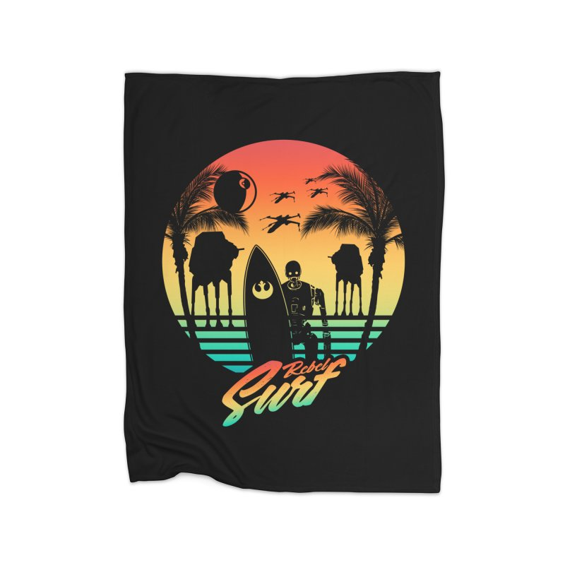 Rebel Surf Home Blanket by mateusquandt's Artist Shop