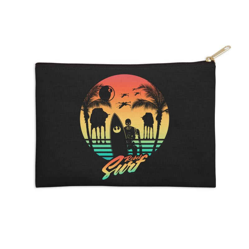 Rebel Surf Accessories Zip Pouch by mateusquandt's Artist Shop