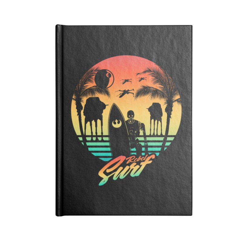Rebel Surf Accessories Notebook by mateusquandt's Artist Shop