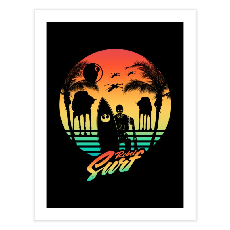 Rebel Surf Home Fine Art Print by mateusquandt's Artist Shop