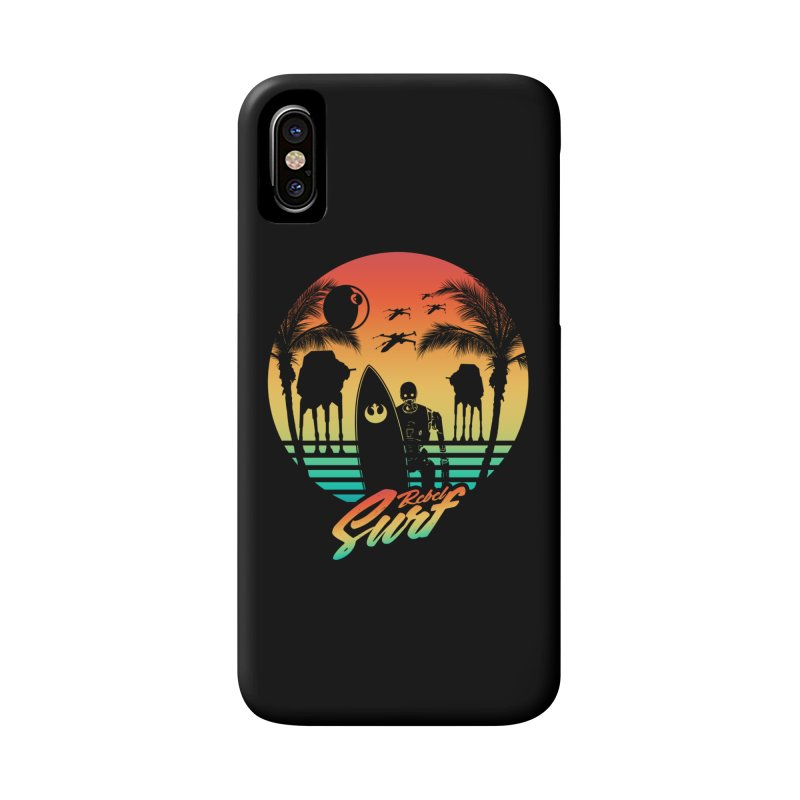 Rebel Surf Accessories Phone Case by mateusquandt's Artist Shop