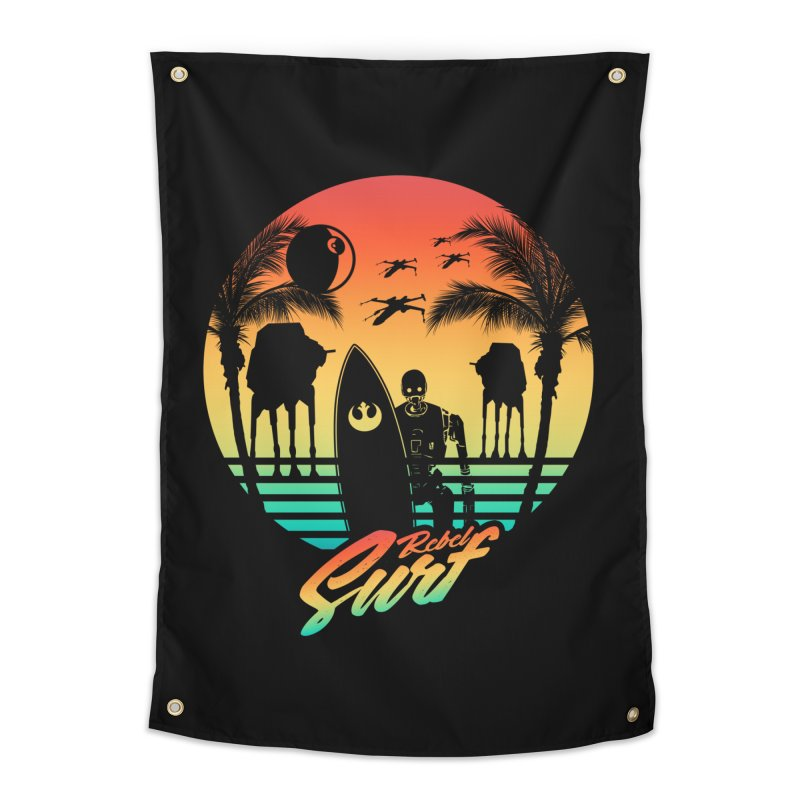 Rebel Surf Home Tapestry by mateusquandt's Artist Shop