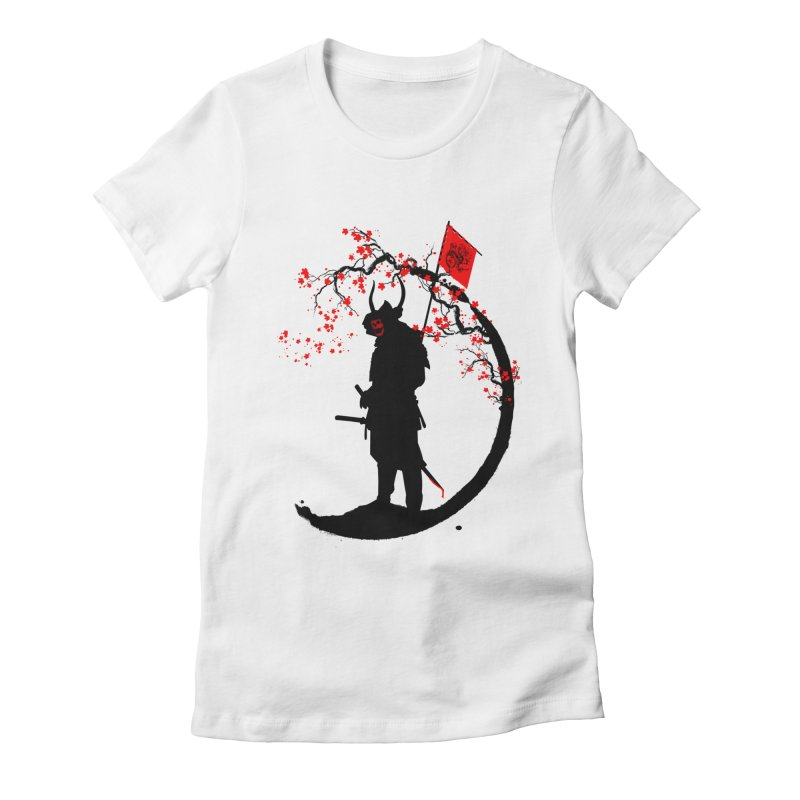 The Lord of the war Women's Fitted T-Shirt by mateusquandt's Artist Shop