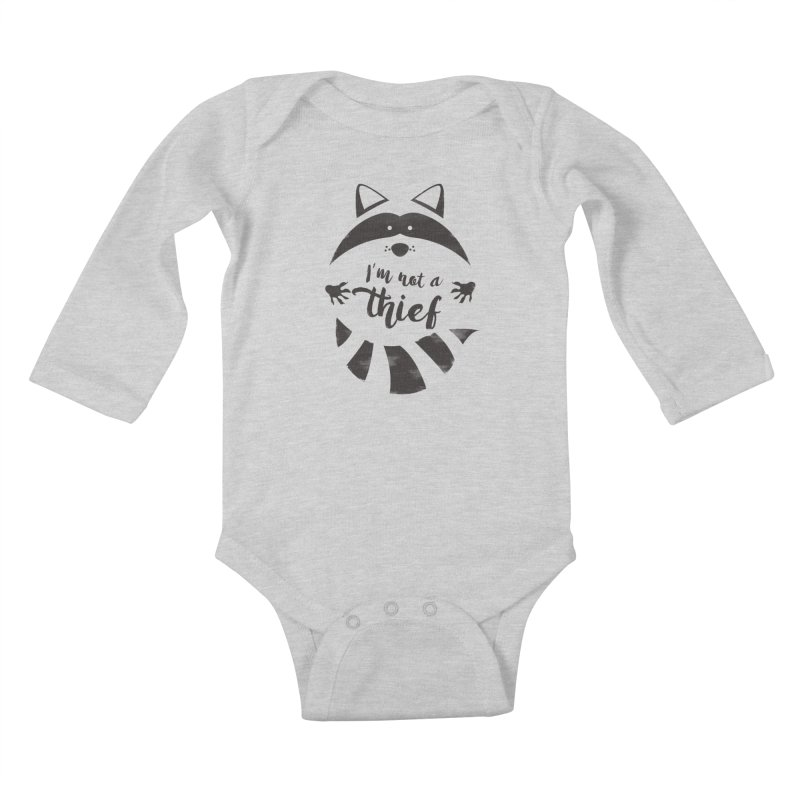 I'm not a thief Kids Baby Longsleeve Bodysuit by mateusquandt's Artist Shop