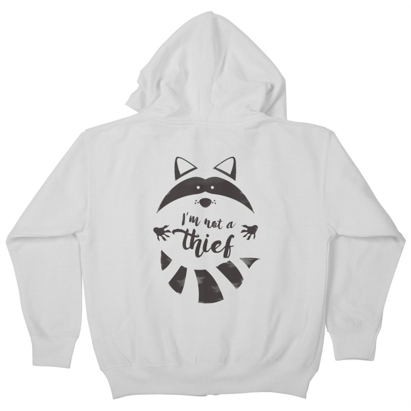 I'm not a thief Kids Zip-Up Hoody by mateusquandt's Artist Shop