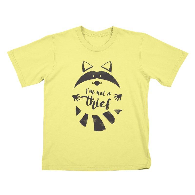 I'm not a thief Kids T-shirt by mateusquandt's Artist Shop