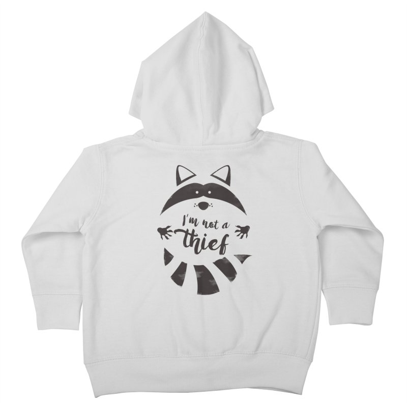 I'm not a thief Kids Toddler Zip-Up Hoody by mateusquandt's Artist Shop