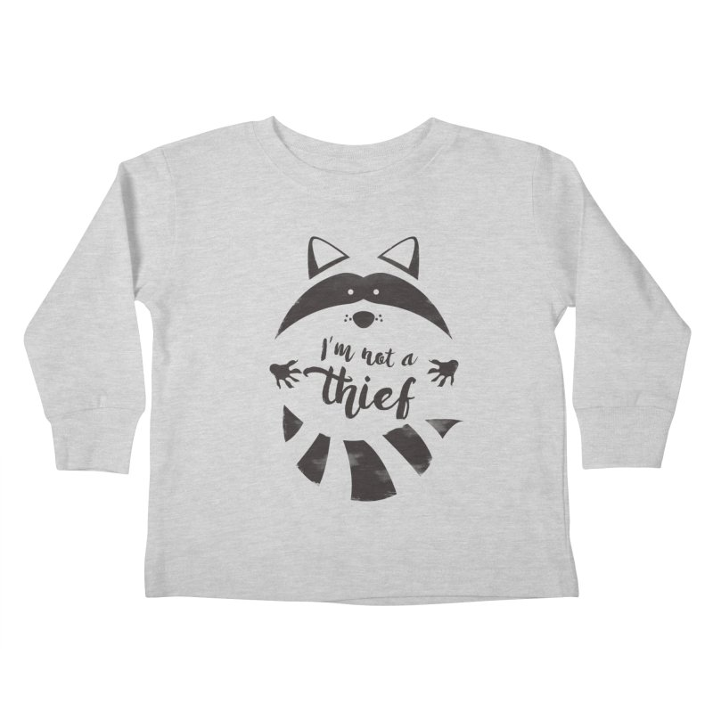 I'm not a thief Kids Toddler Longsleeve T-Shirt by mateusquandt's Artist Shop