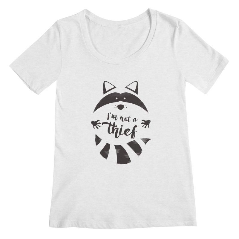 I'm not a thief Women's Scoopneck by mateusquandt's Artist Shop