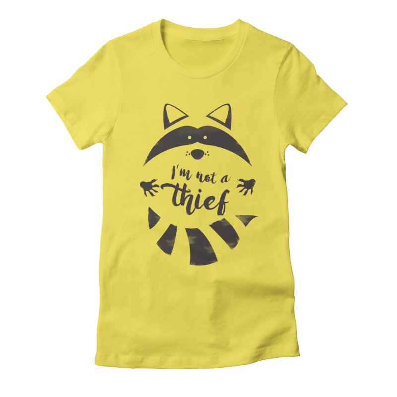 I'm not a thief Women's Fitted T-Shirt by mateusquandt's Artist Shop