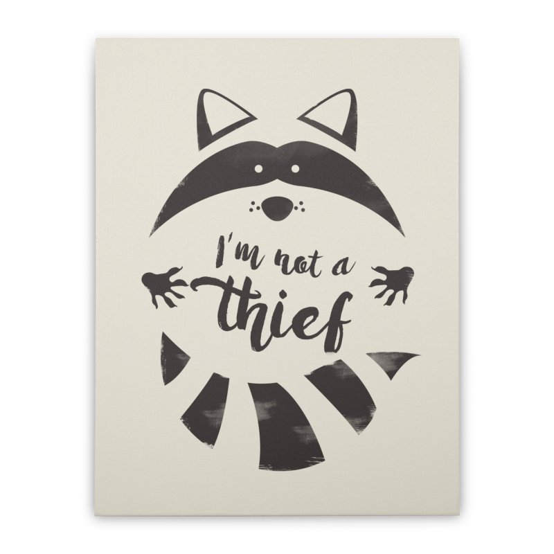 I'm not a thief Home Stretched Canvas by mateusquandt's Artist Shop